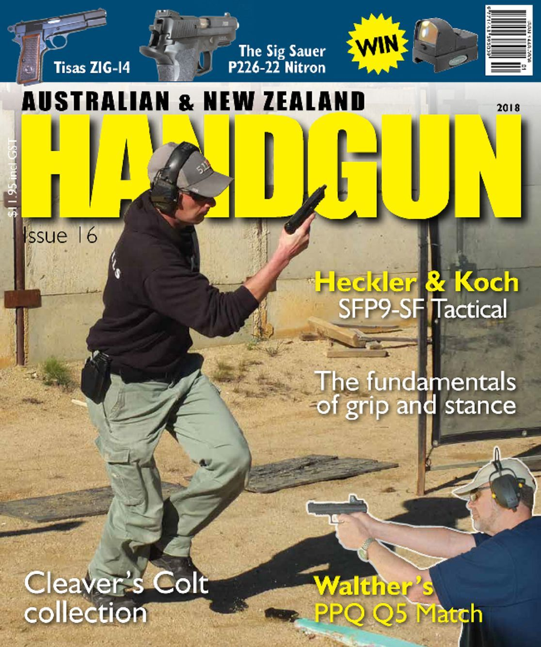 Australian New Zealand Handgun Digital