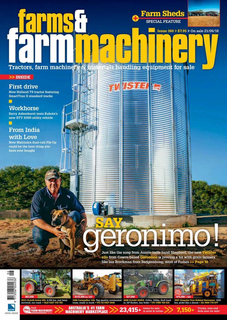 Farms and Farm Machinery Digital