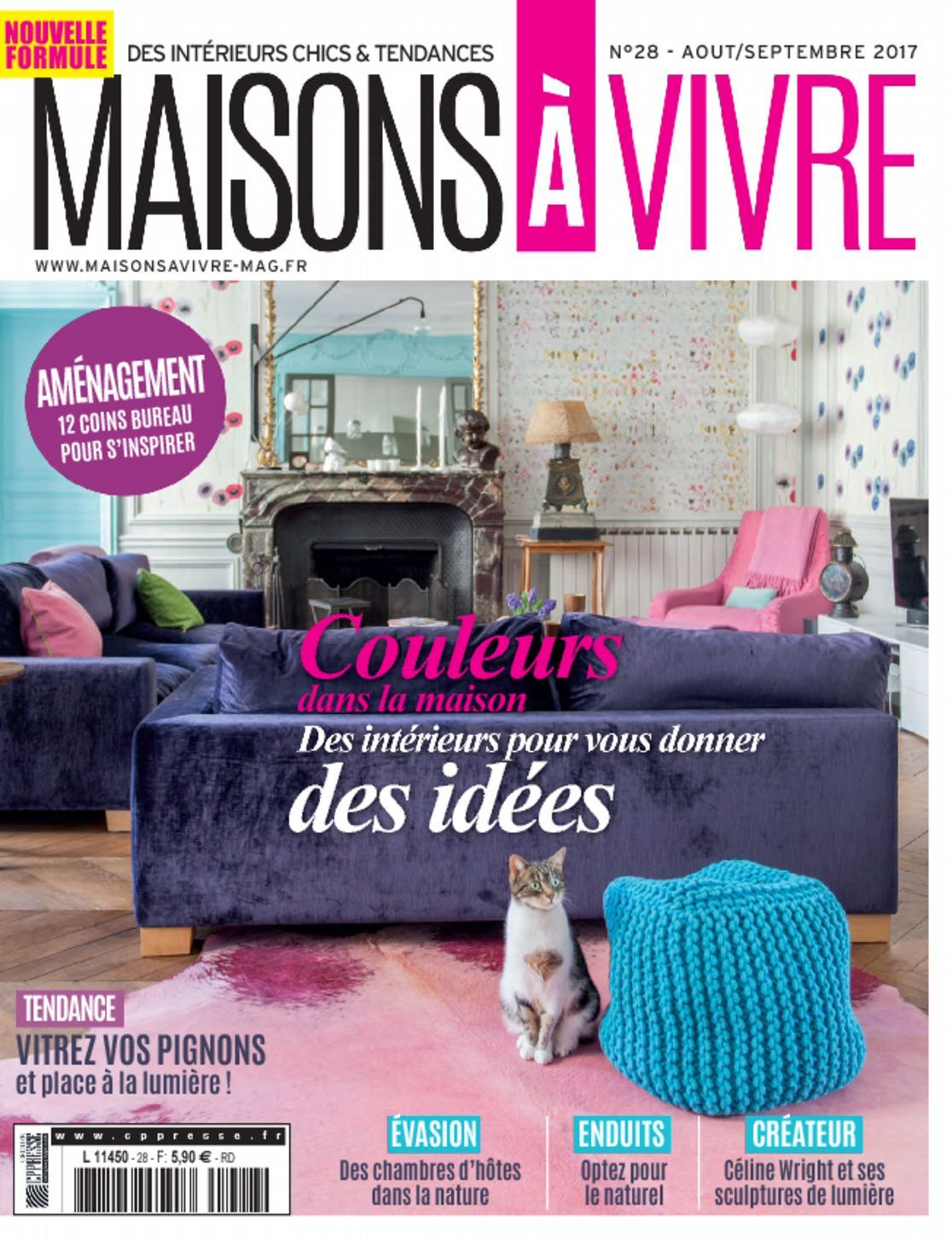 maisons vivre magazine digital. Black Bedroom Furniture Sets. Home Design Ideas