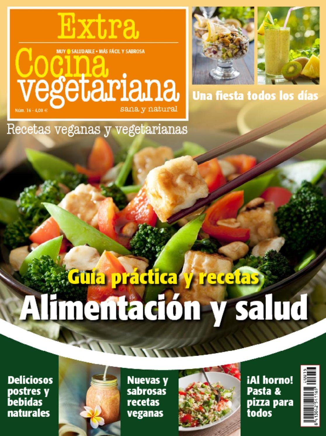 Cocina vegetariana extra magazine digital for Cocina vegetariana