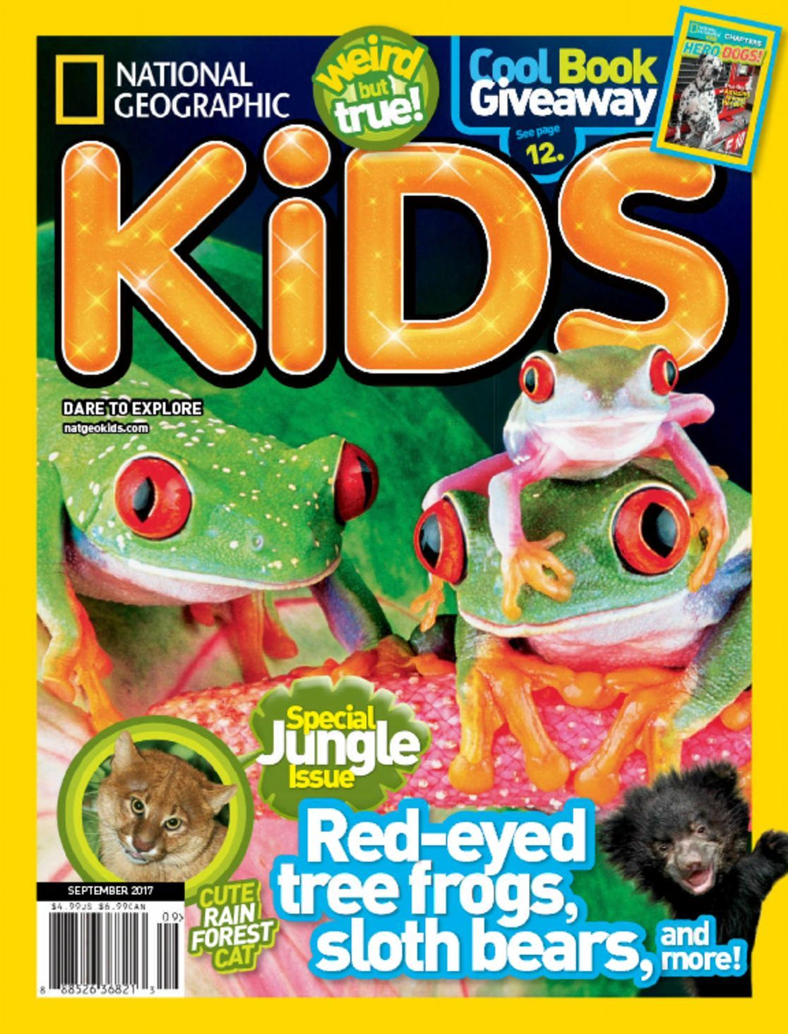 Encourage your little learner with the fun and discovery of National Geographic Little Kids. Created by educators and approved by families worldwide, our magazine is loaded with colorful photographs, read-along stories, baby animals and games, all in a friendly kid-size format.