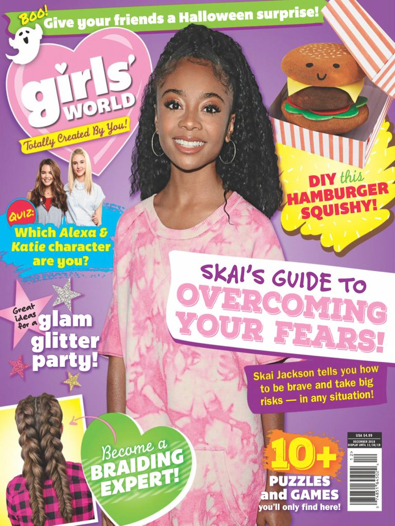 Girls World Magazine Subscription: Girls' World Magazine (Digital)