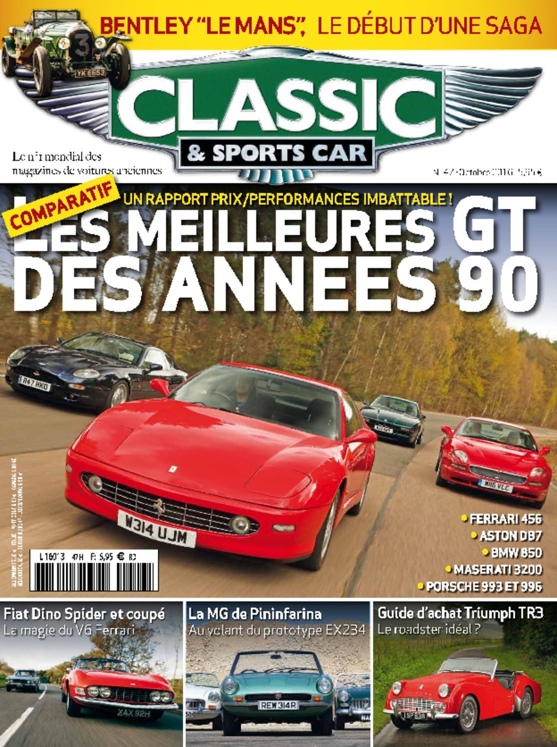 classic sports car france digital magazine. Black Bedroom Furniture Sets. Home Design Ideas