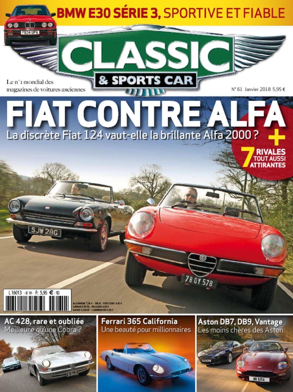 classic sports car france magazine digital. Black Bedroom Furniture Sets. Home Design Ideas