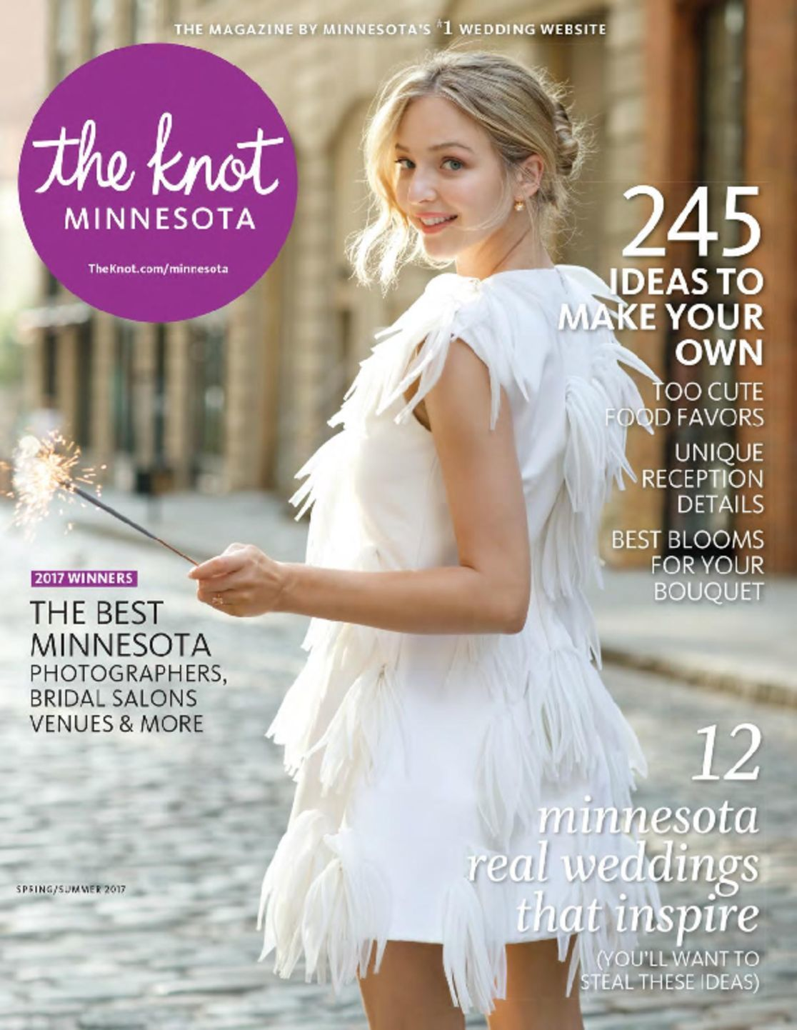 minnesota bride magazine springsummer