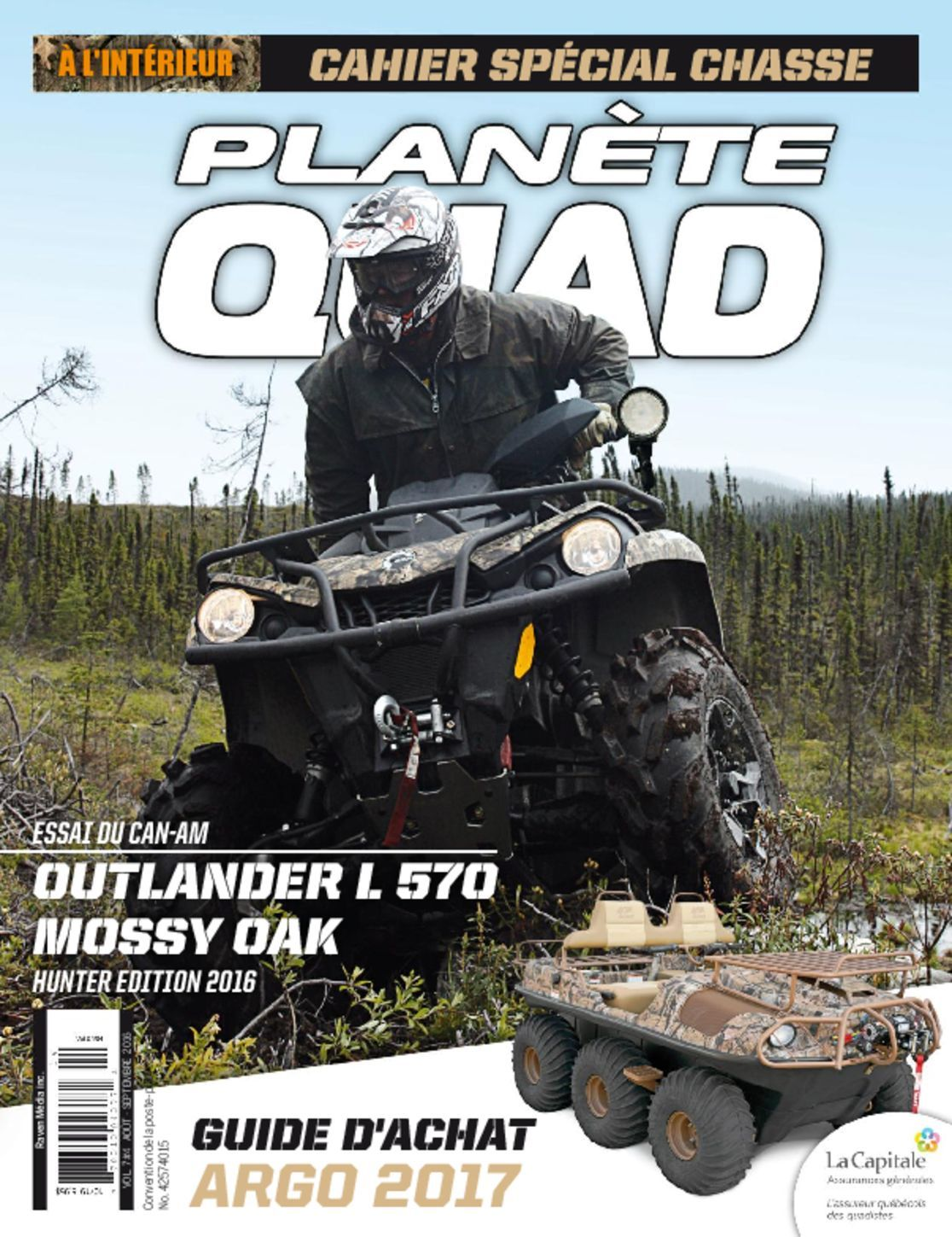 Planete Quad (digital) Magazine Cover