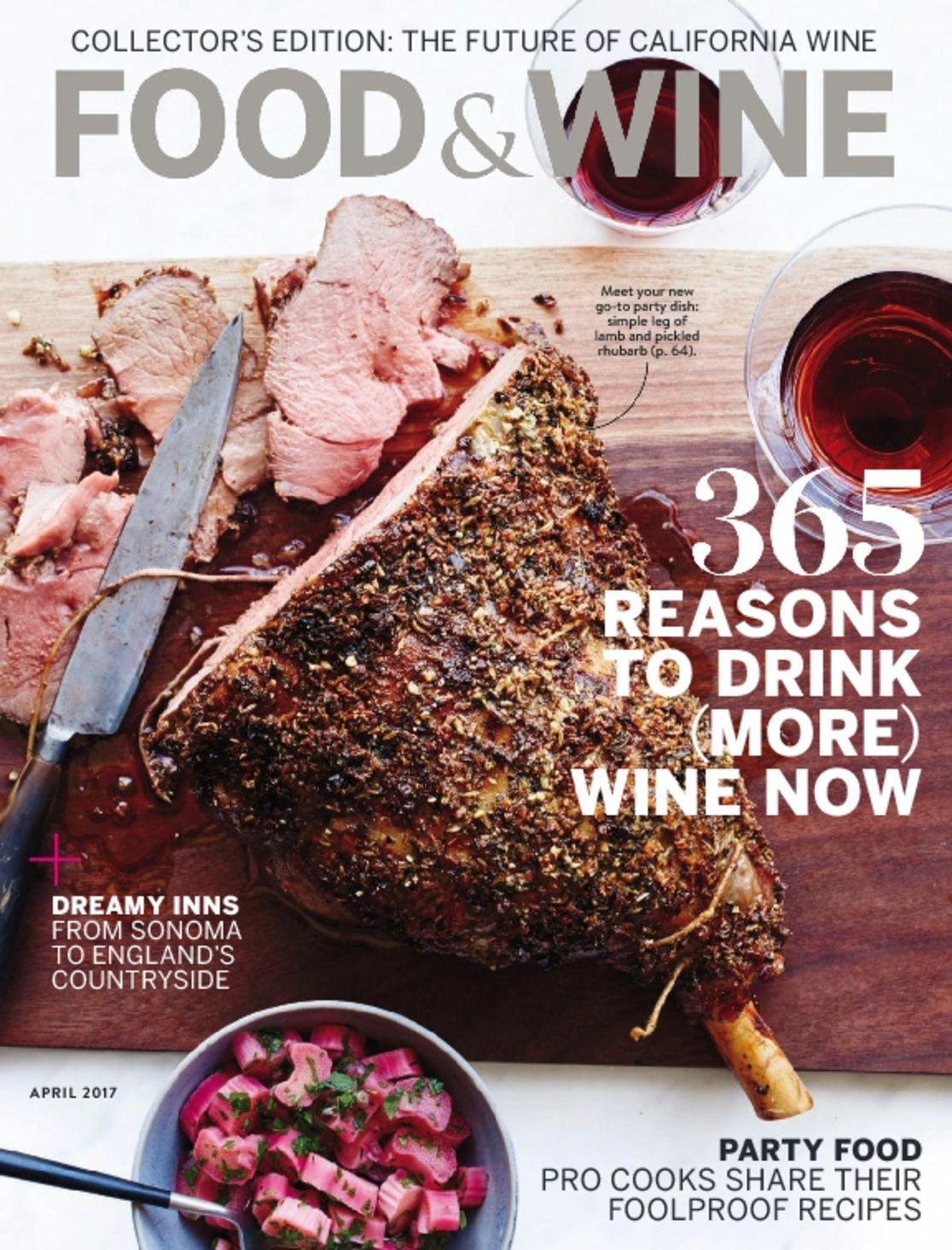Food Amp Wine Magazine A Taste Of The Good Life