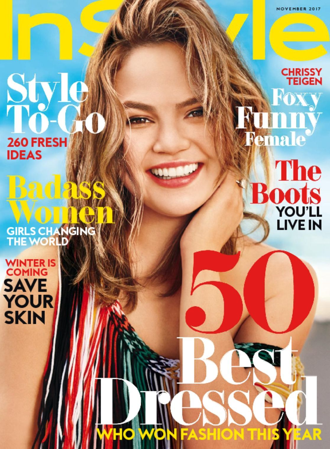 Instyle magazine is for people who like to keep up with celebrities and what they're doing. Packed with the latest celebrity news, Instyle keeps you up-to-date .
