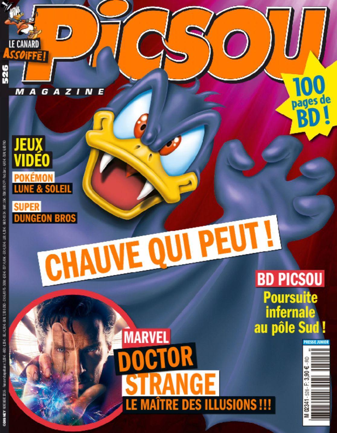 Picsou (digital) Magazine Cover