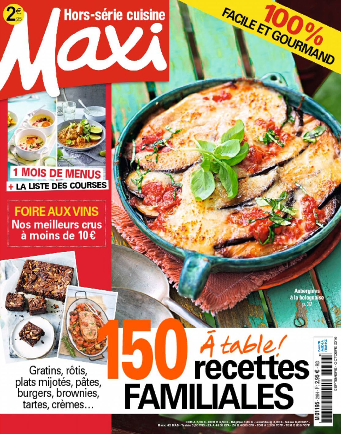 Maxi hors s rie cuisine digital magazine for Gazelle cuisine hors serie