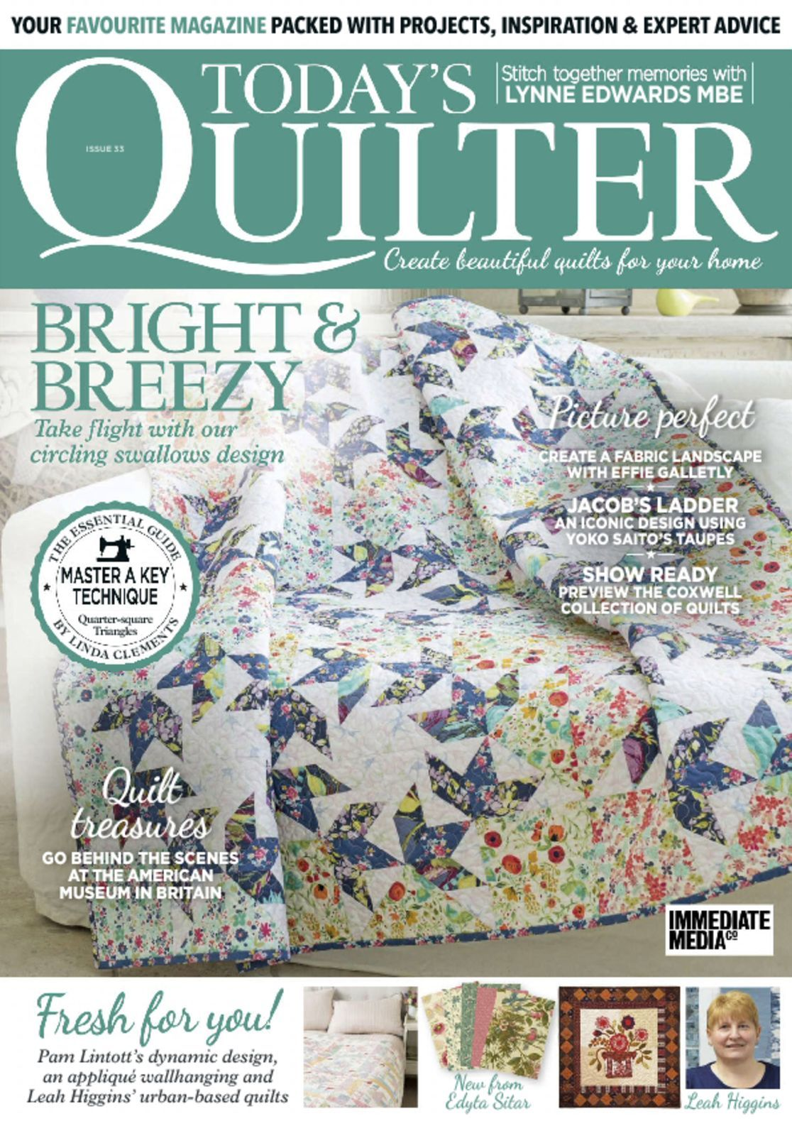 Today's Quilter Magazine (Digital) - DiscountMags.com : quilting today magazine - Adamdwight.com
