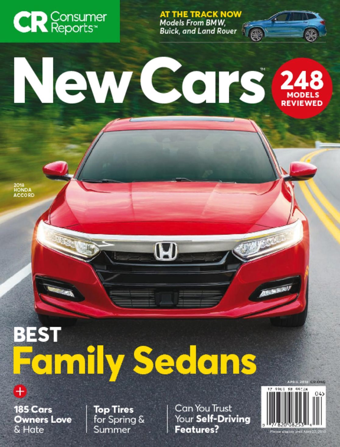 Consumer Reports New Cars Magazine Digital Mags