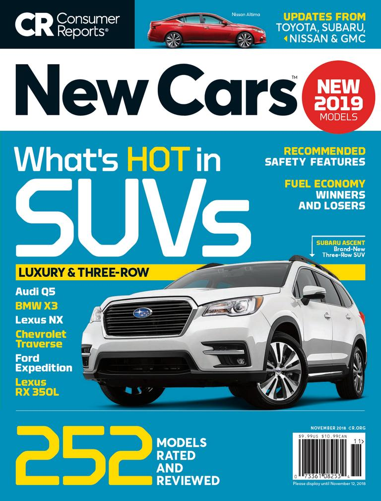 Consumer Reports New Cars Magazine Digital