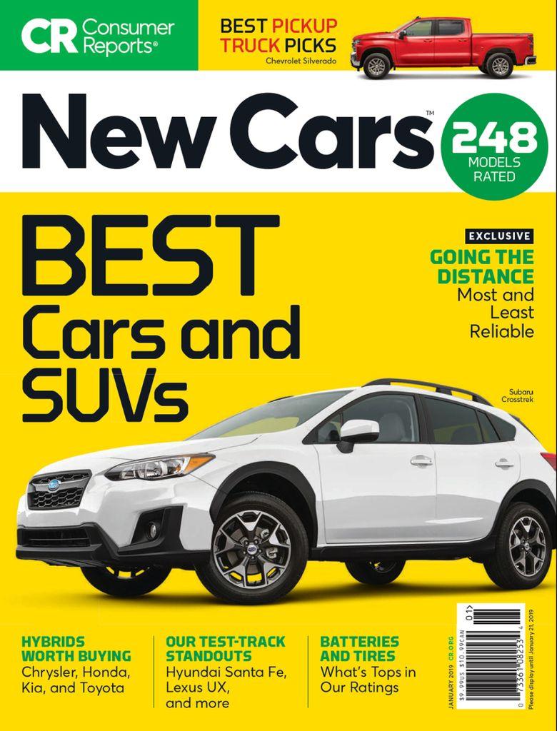 Consumer Reports New Cars Digital
