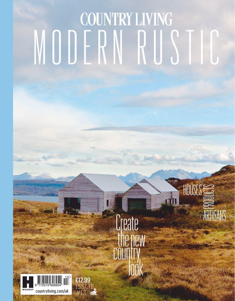 Modern Rustic Living Room Design Ideas: Country Living Modern Rustic Magazine (Digital