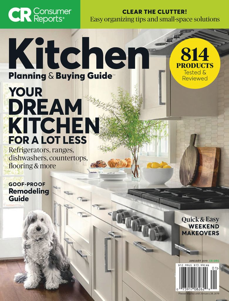 Consumer Reports Kitchen Planning And Ing Guide Magazine Digital Mags