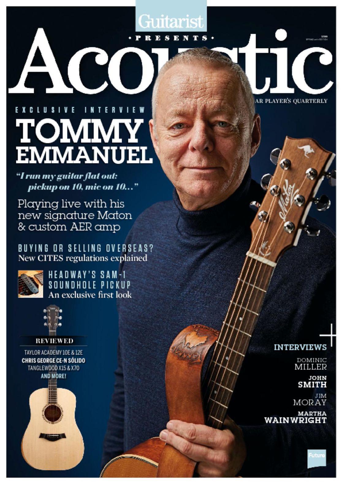 Guitarist Presents Acoustic Spring Digital