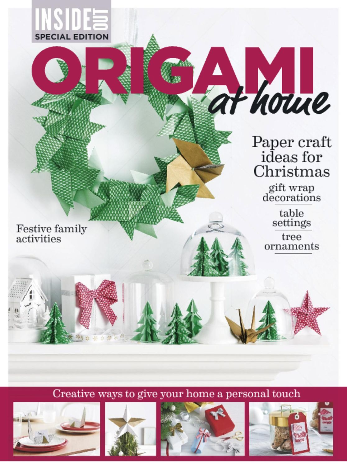 inside out special origami at home magazine digital