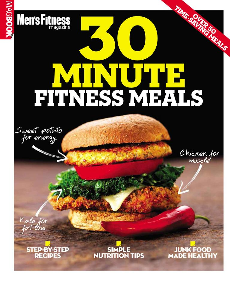 Men Fitness 30 min Meals Digital