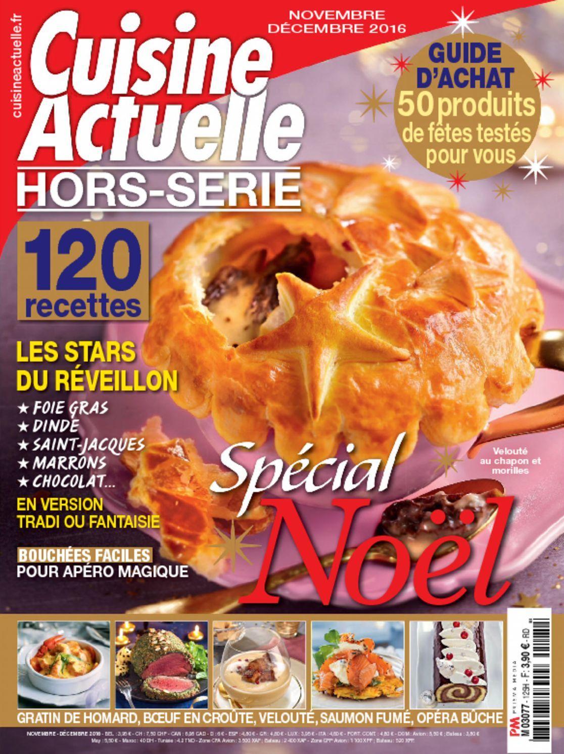 Cuisine actuelle hors s rie digital magazine for Cuisine actuelle