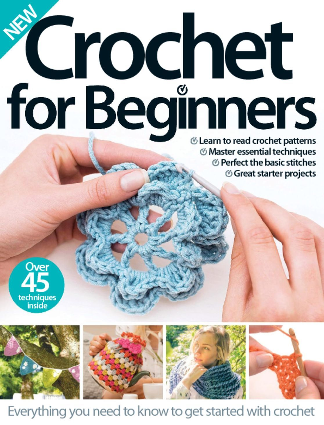 Crochet For Beginners Digital - Magazine Subscription CA