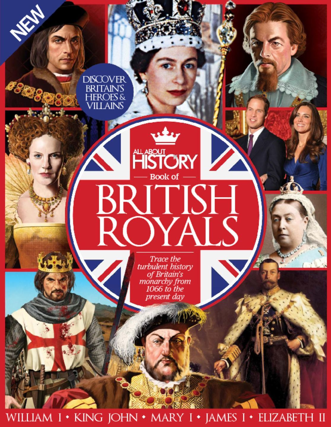 All About History Book of British Royals Digital