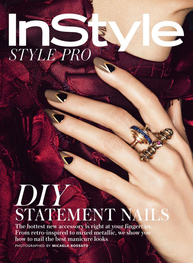 InStyle DIY New Manicures Digital
