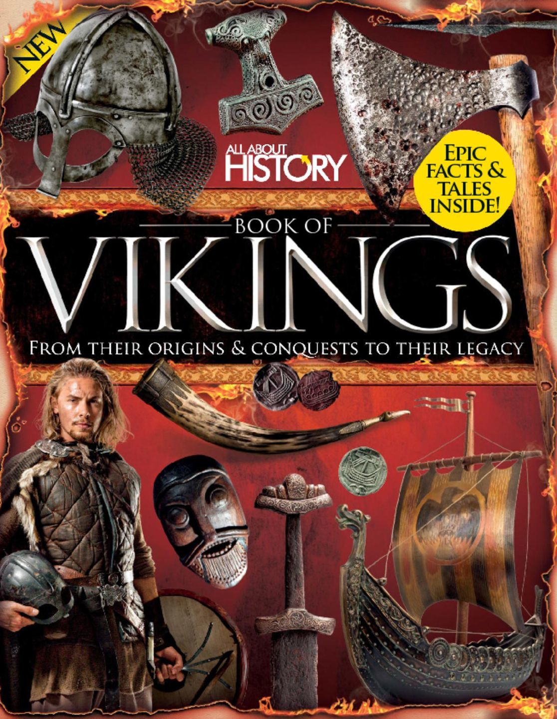 All About History Book of Vikings Digital