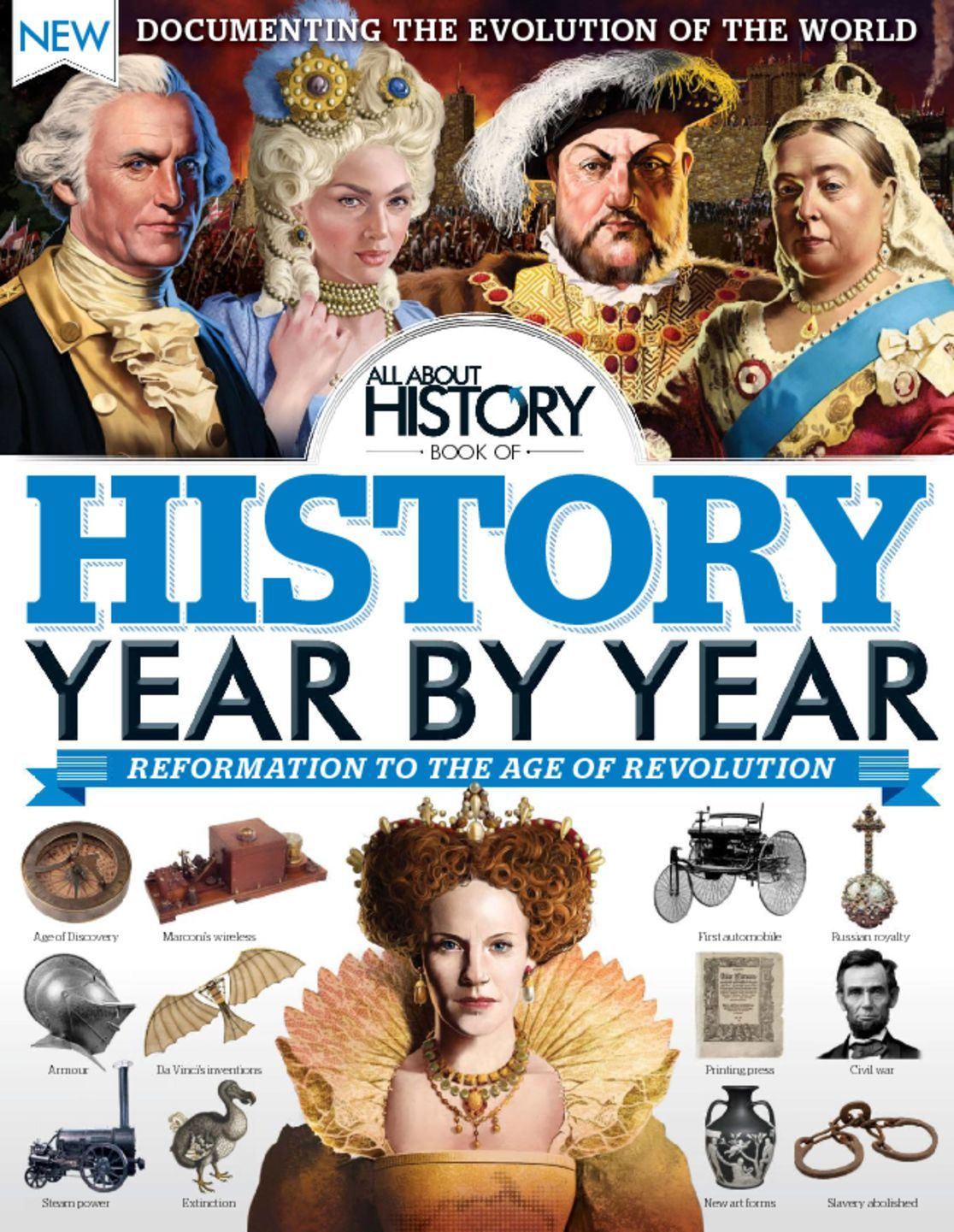 All About History Book of History Year By Year Digital