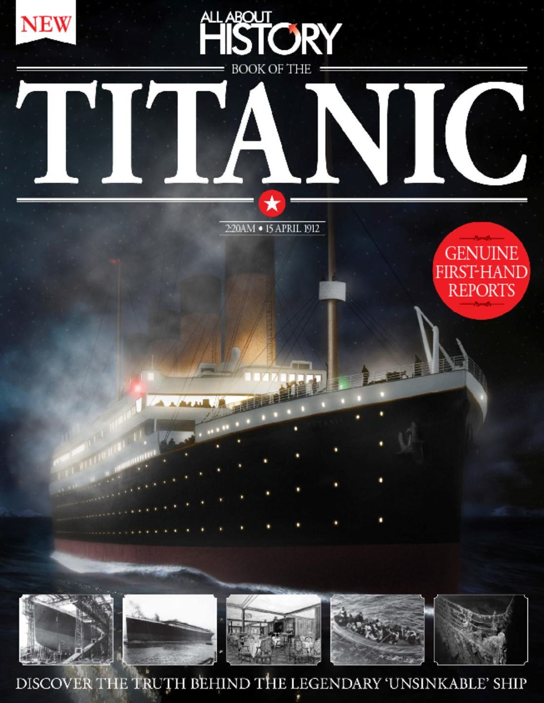 All About History Book of The Titanic Digital