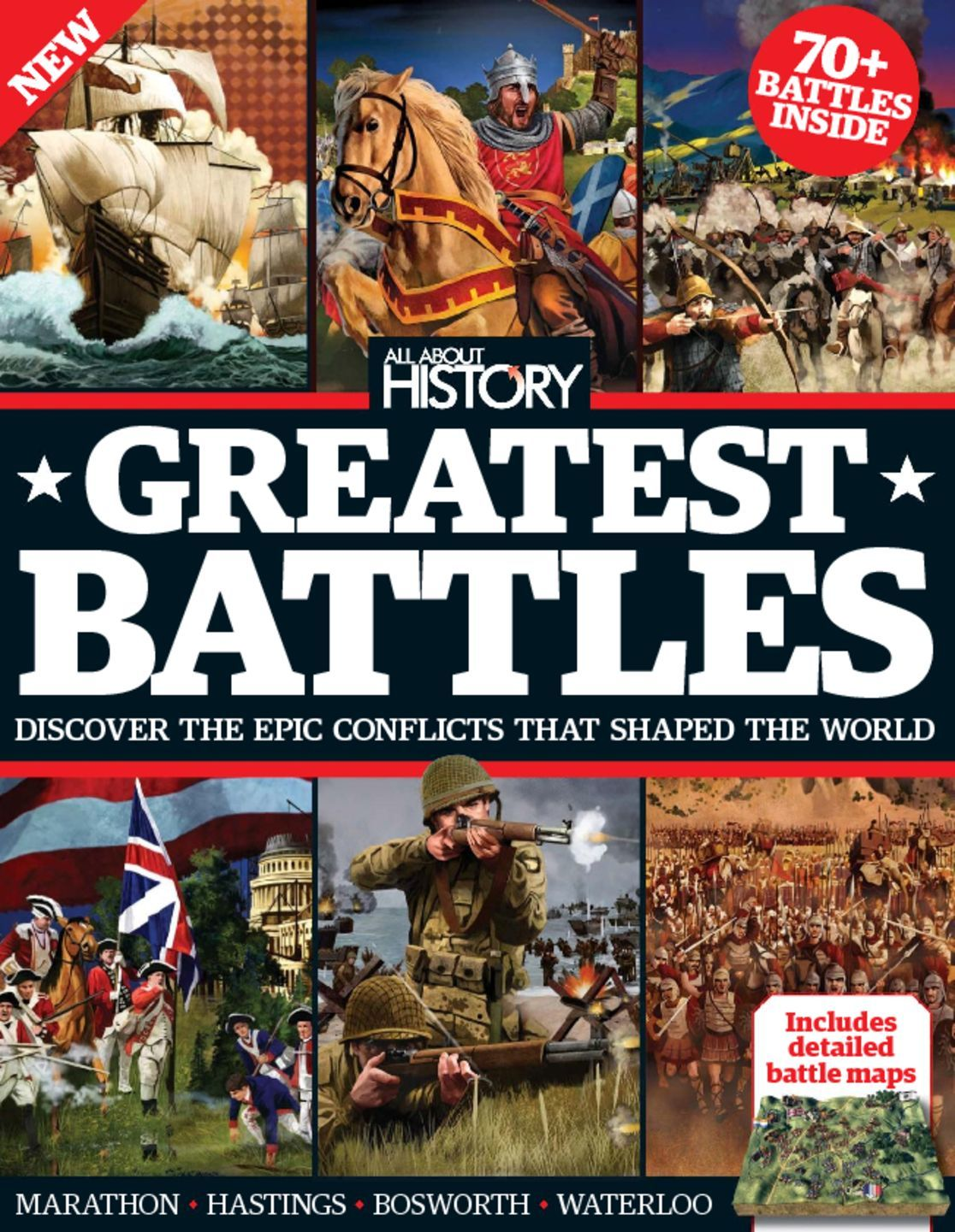 All About History Book Of Greatest Battles Digital