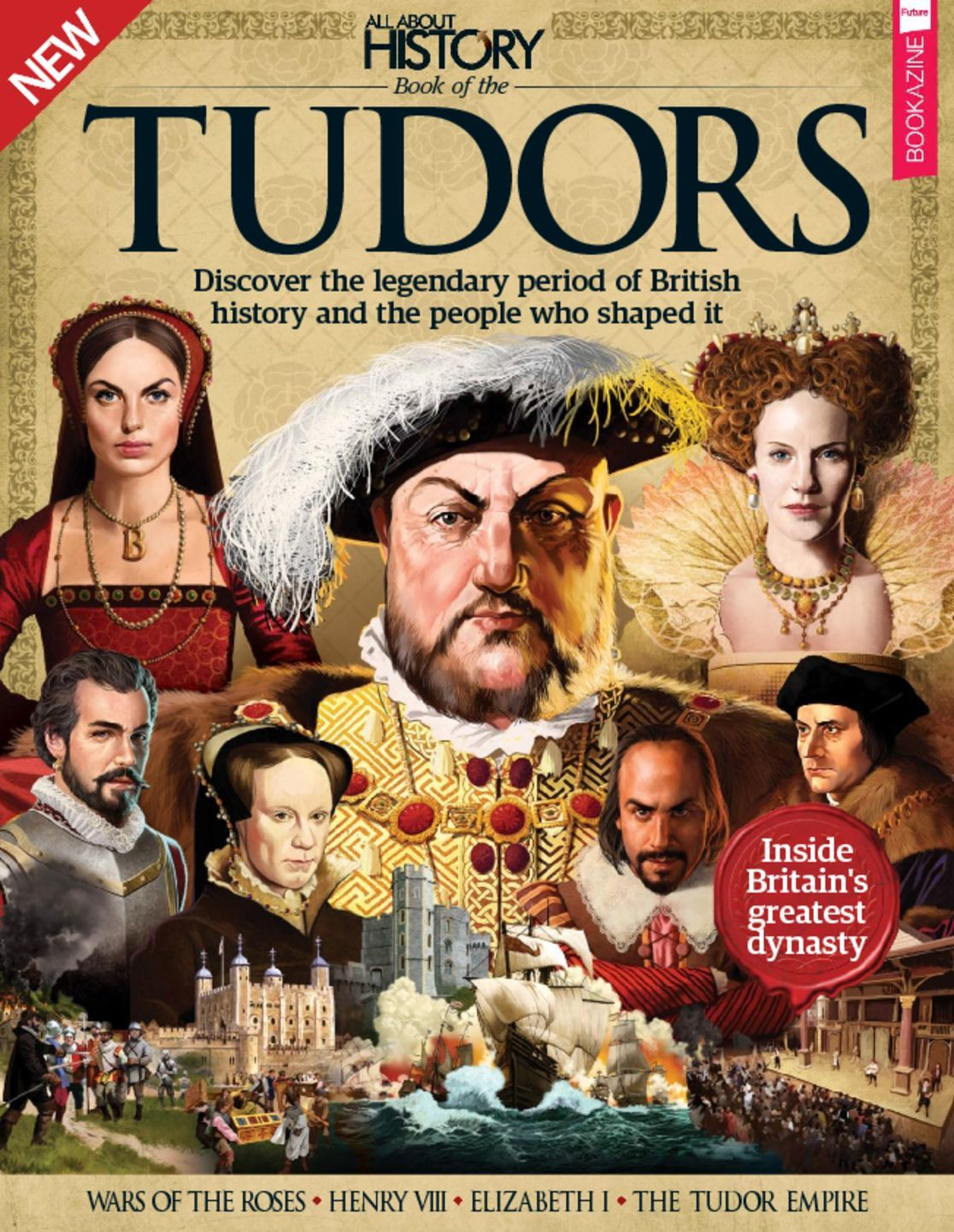 All About History Book Of The Tudors Digital