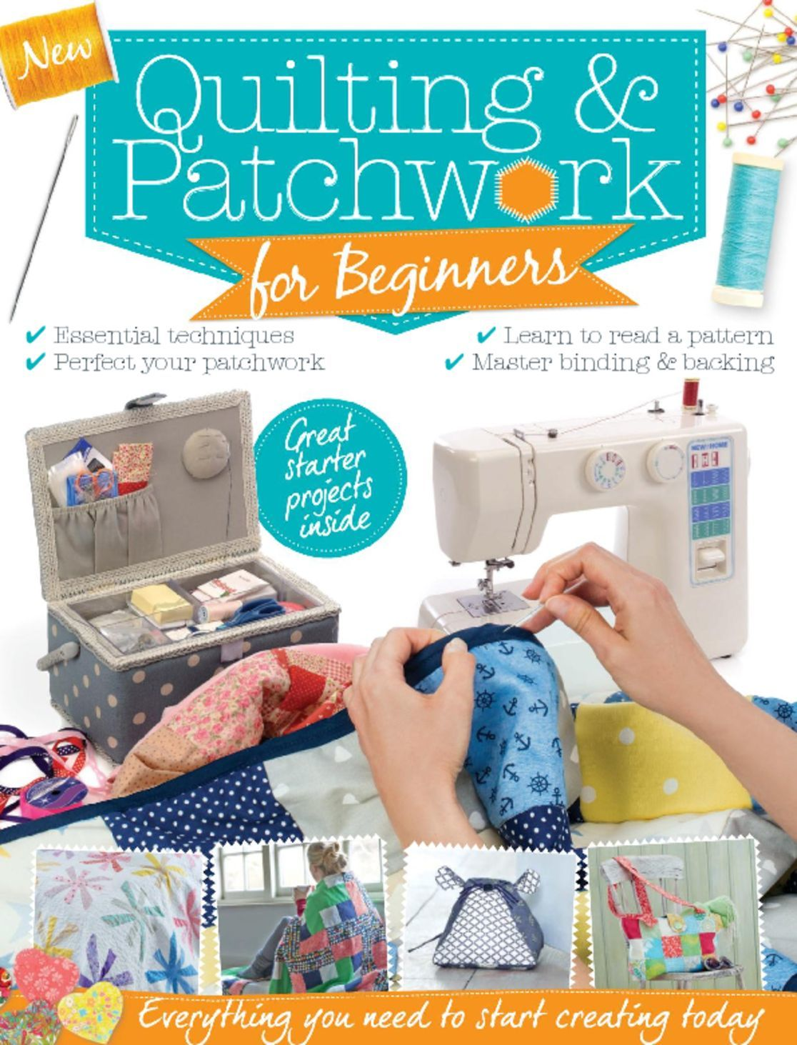 Patchwork Quilting for Beginners Digital