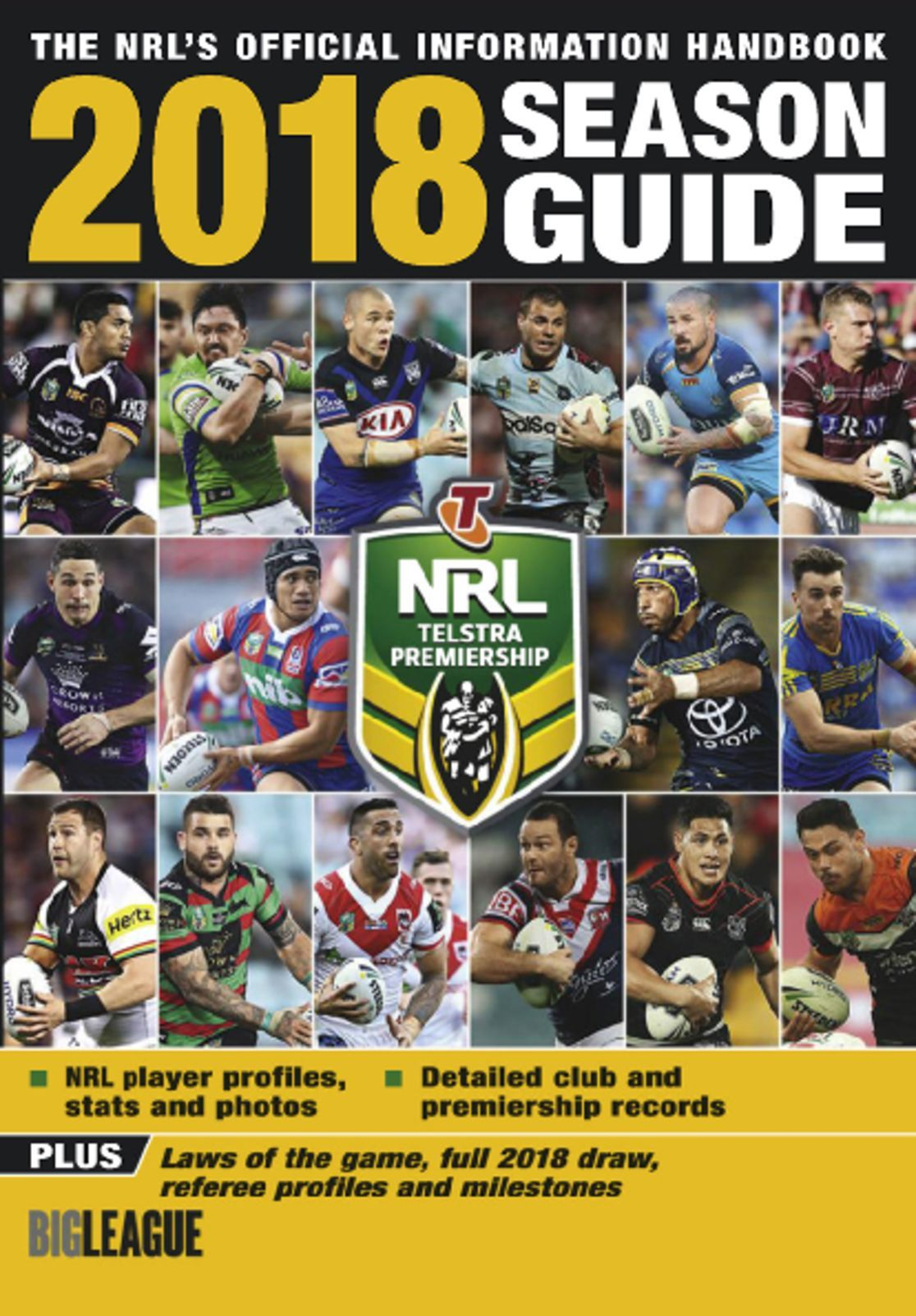 Big League NRL Season Guide Digital