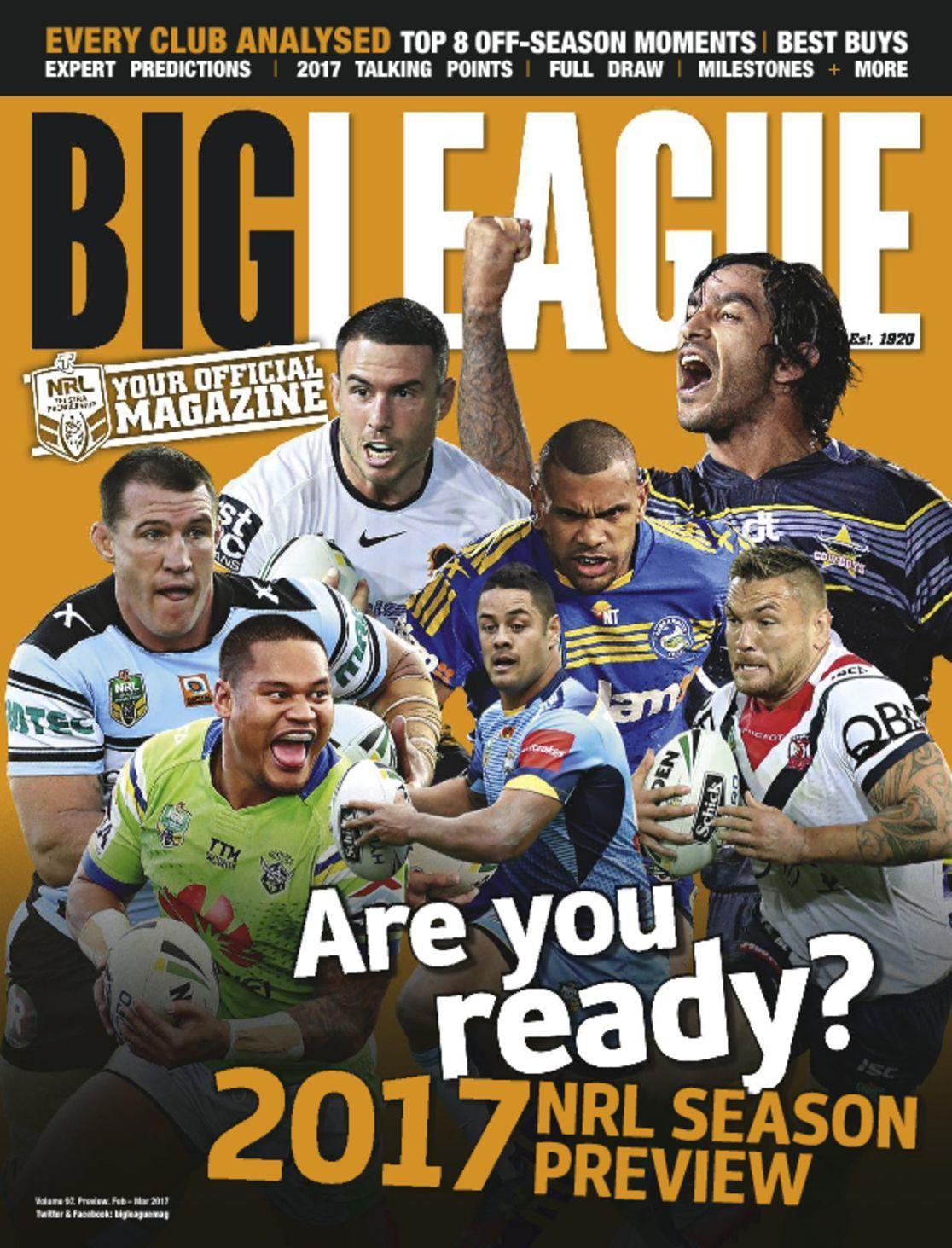 Big League NRL Season Preview Digital
