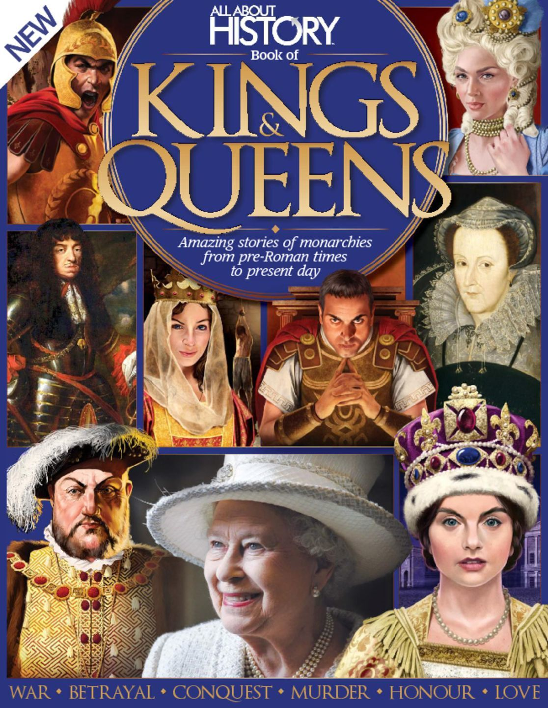 All About History Book of Kings Queens Digital