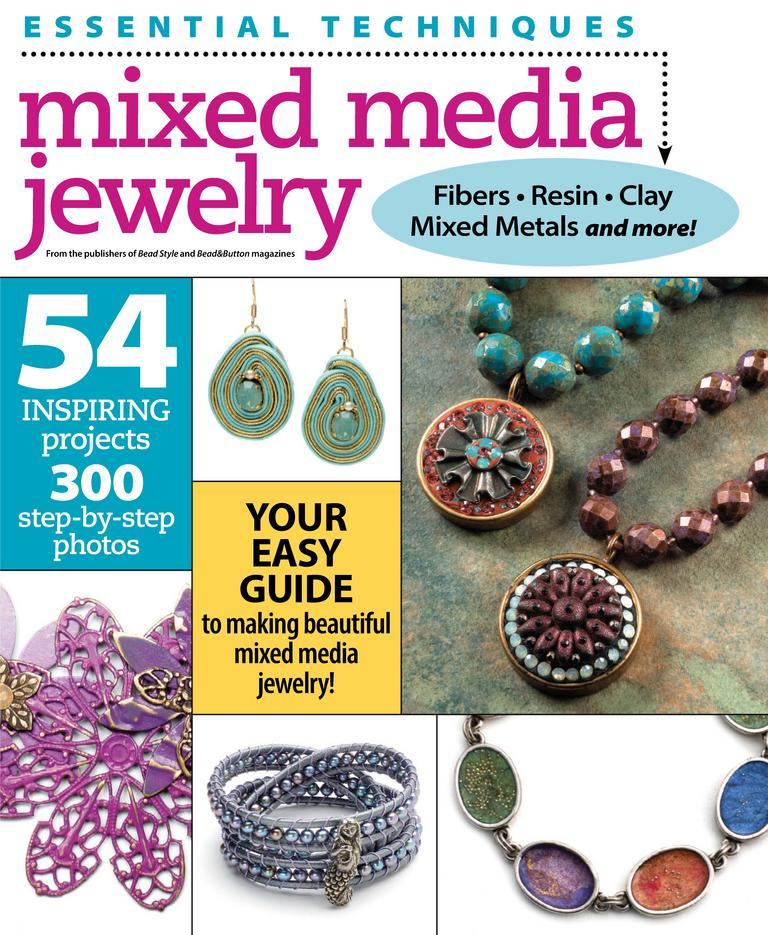 Essential Techniques Mixed Media Jewelry Digital