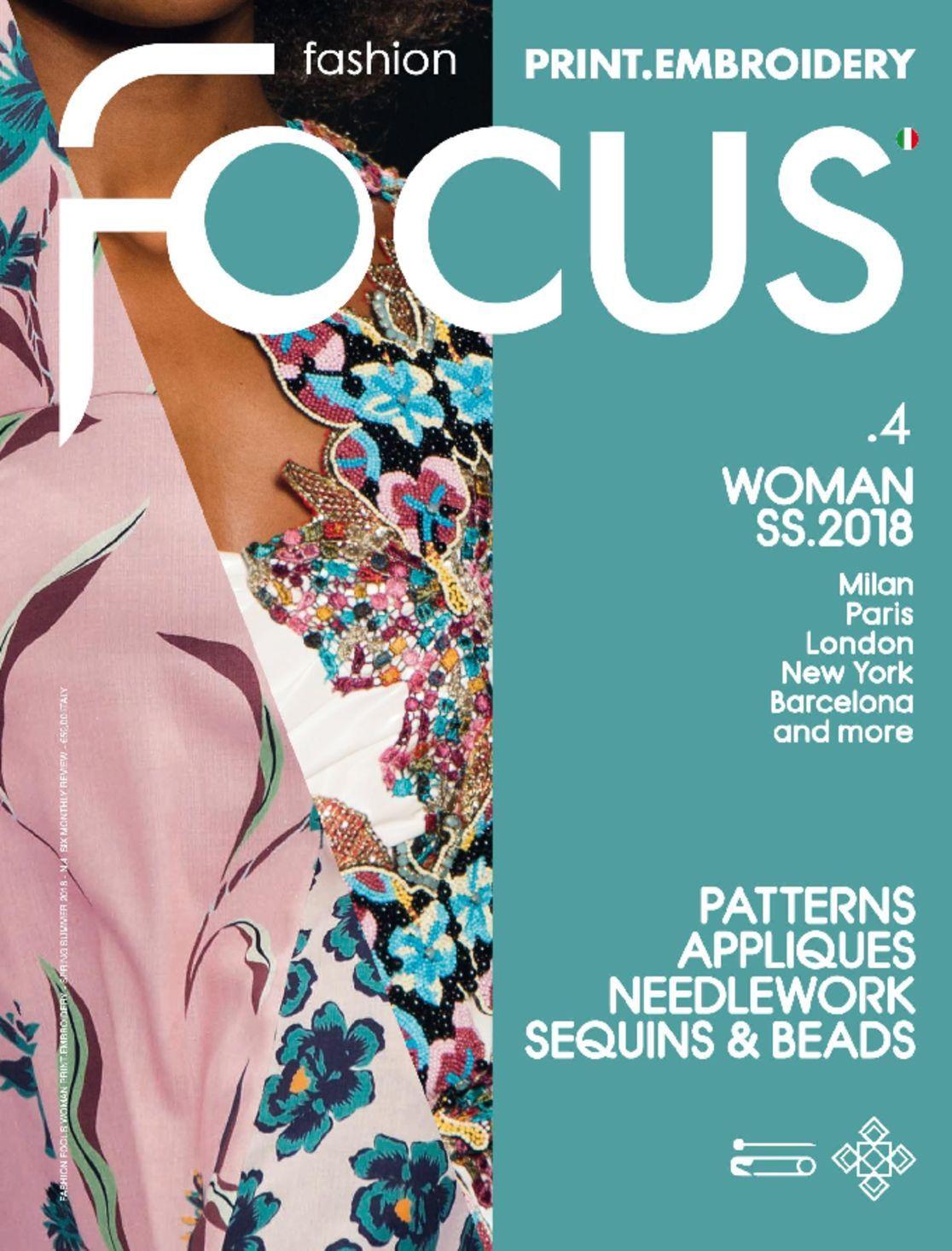 FASHION FOCUS WOMAN PRINTEMBROIDERY Digital