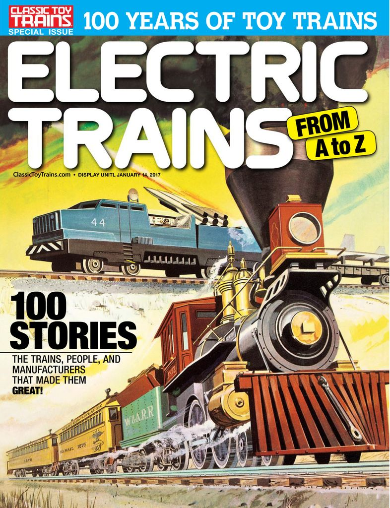 Electric Trains From A to Z Digital