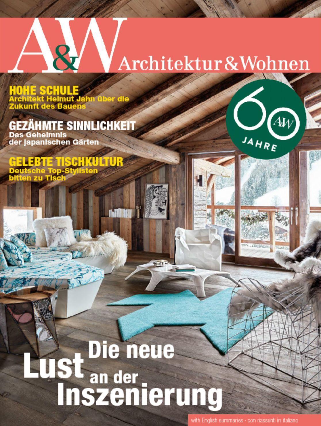a w architektur wohnen magazine digital. Black Bedroom Furniture Sets. Home Design Ideas
