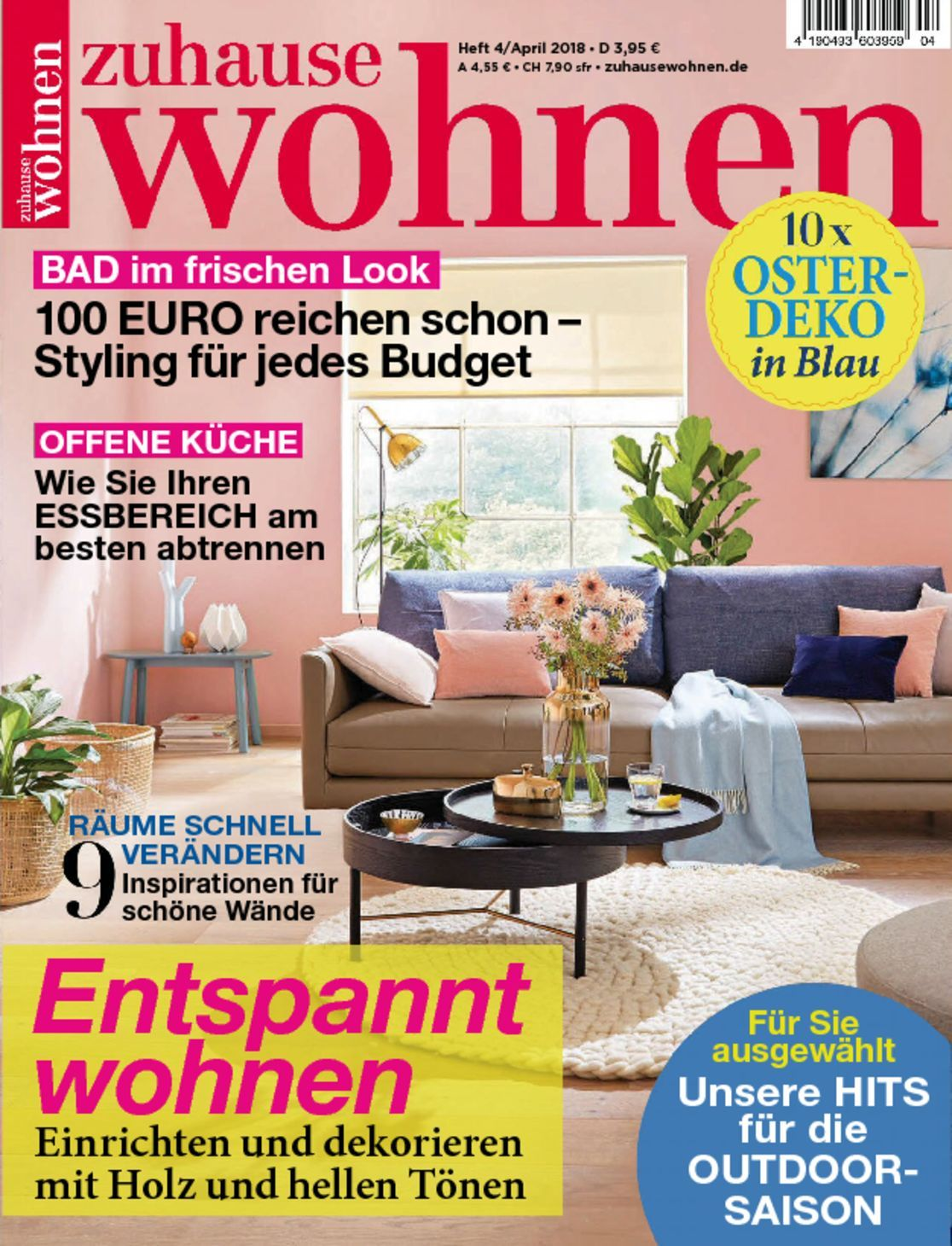 zuhause wohnen magazine digital. Black Bedroom Furniture Sets. Home Design Ideas