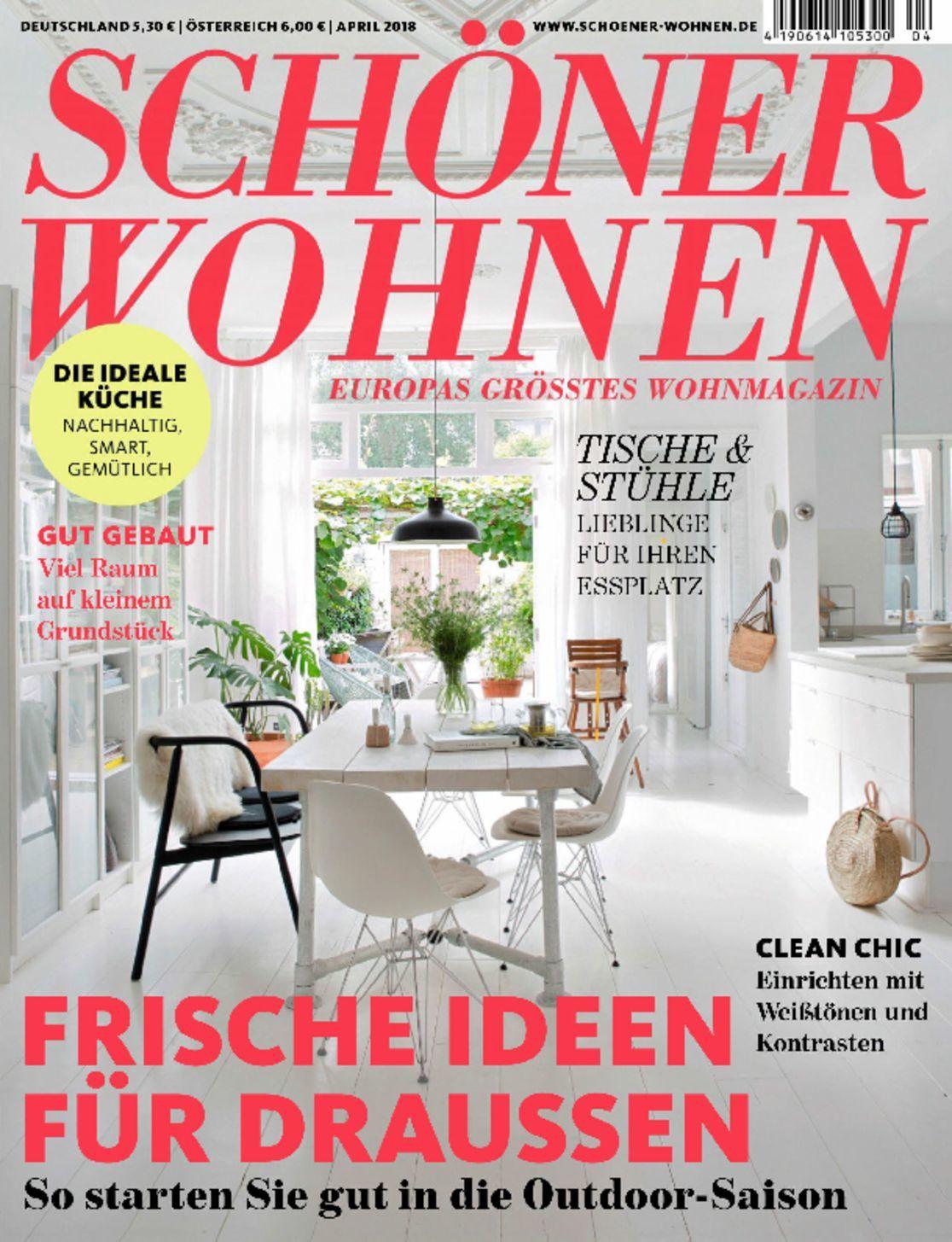 sch ner wohnen magazine digital. Black Bedroom Furniture Sets. Home Design Ideas