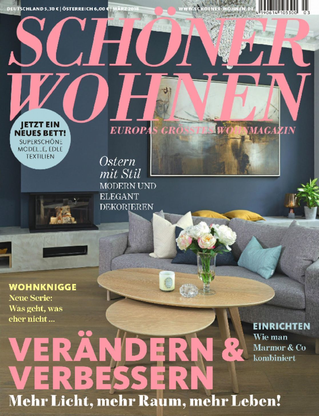 sch ner wohnen magazine digital. Black Bedroom Furniture Sets. Home Design Ideas