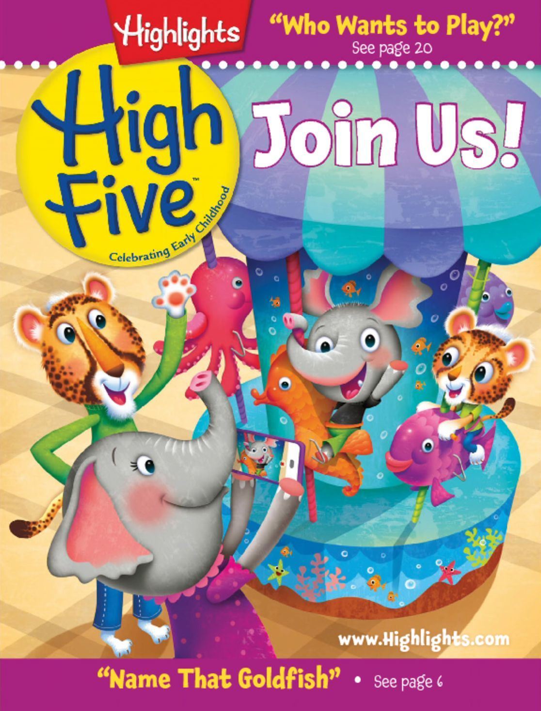 Highlights High Five Welcome Issue Digital