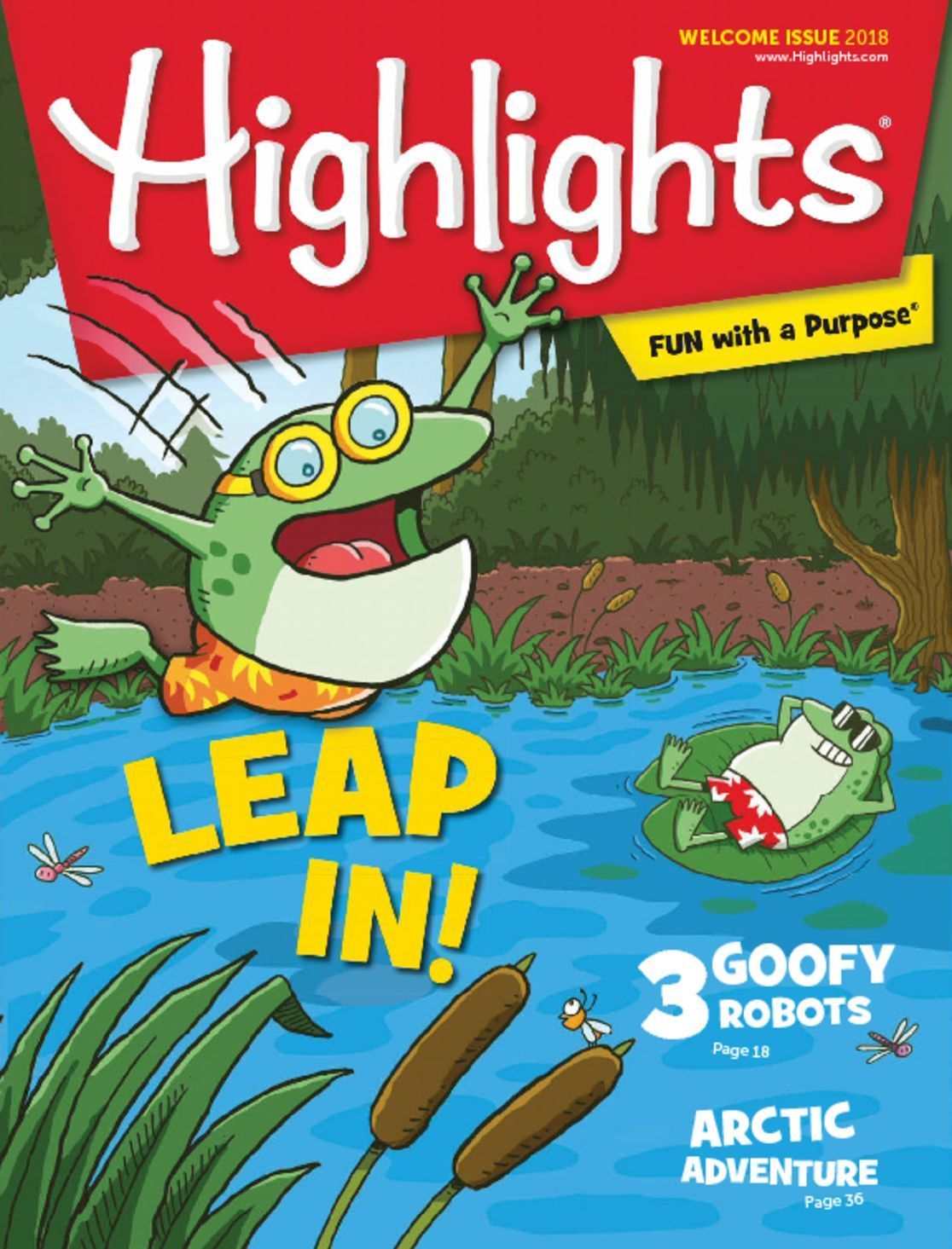 Highlights For Children Welcome Issue Digital