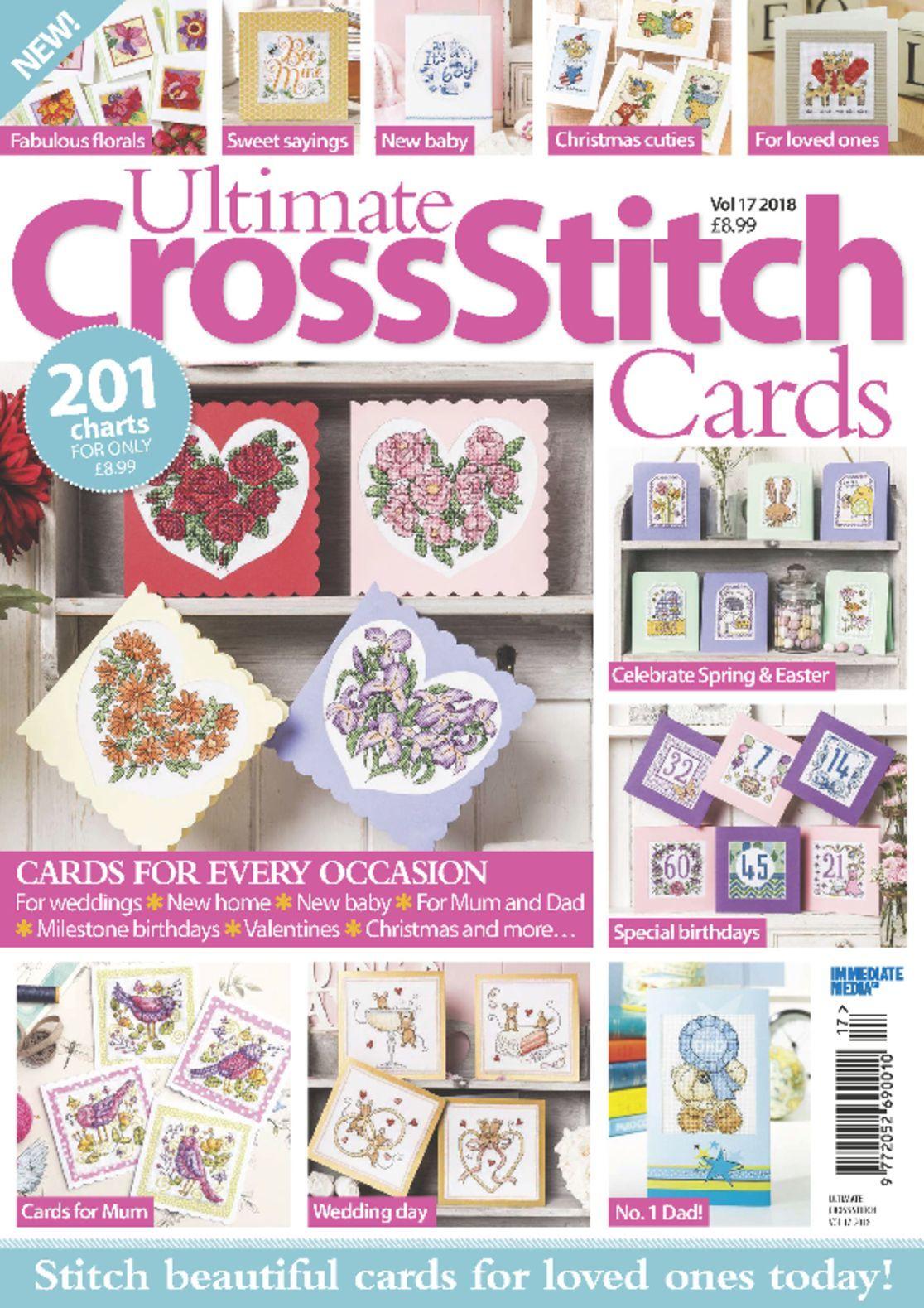 Ultimate Cross Stitch Cards (Digital)