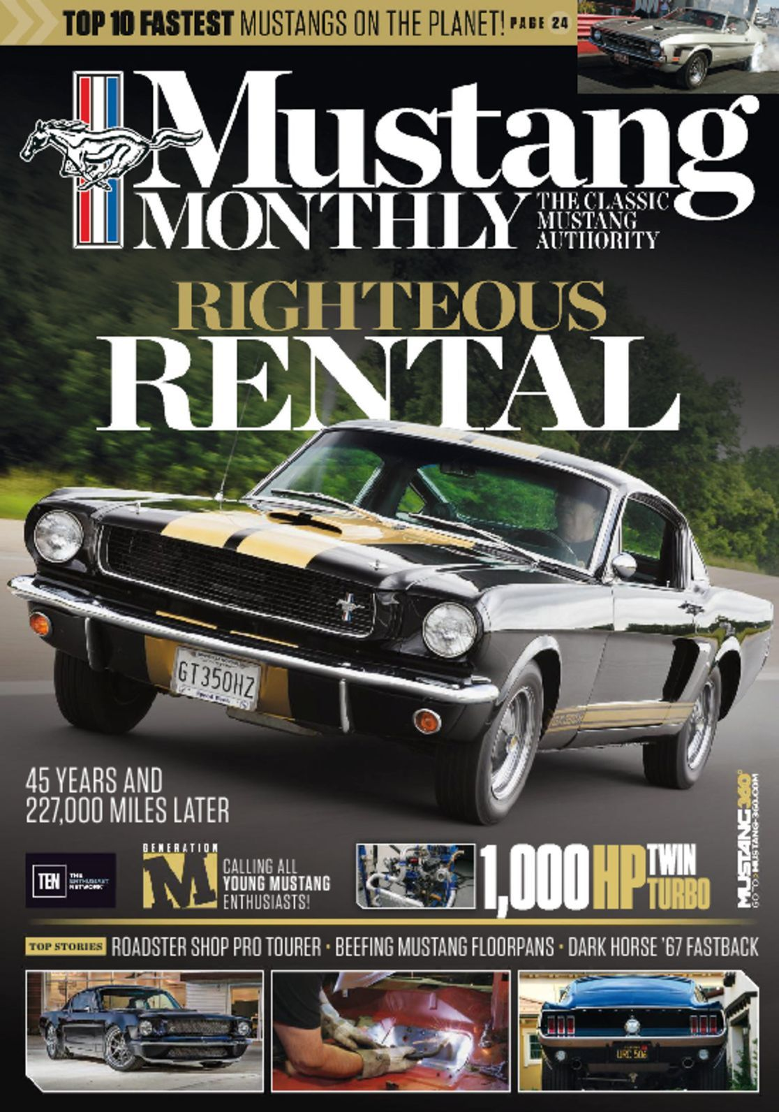 Mustang Monthly Magazine 2007 August Best Buys Paxton Supercharger 1970 Boss 302