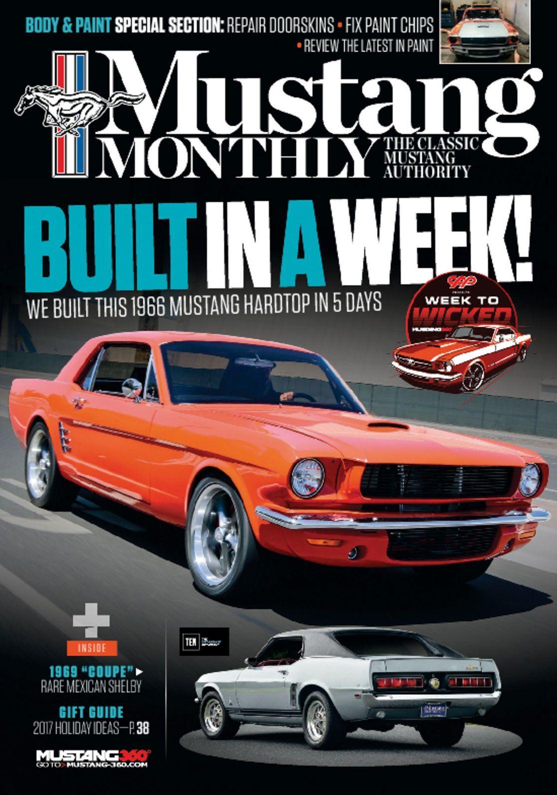 Mustang Monthly Magazine 1985 December Steve McQueen Bullitt Boss 351 GT-500KR