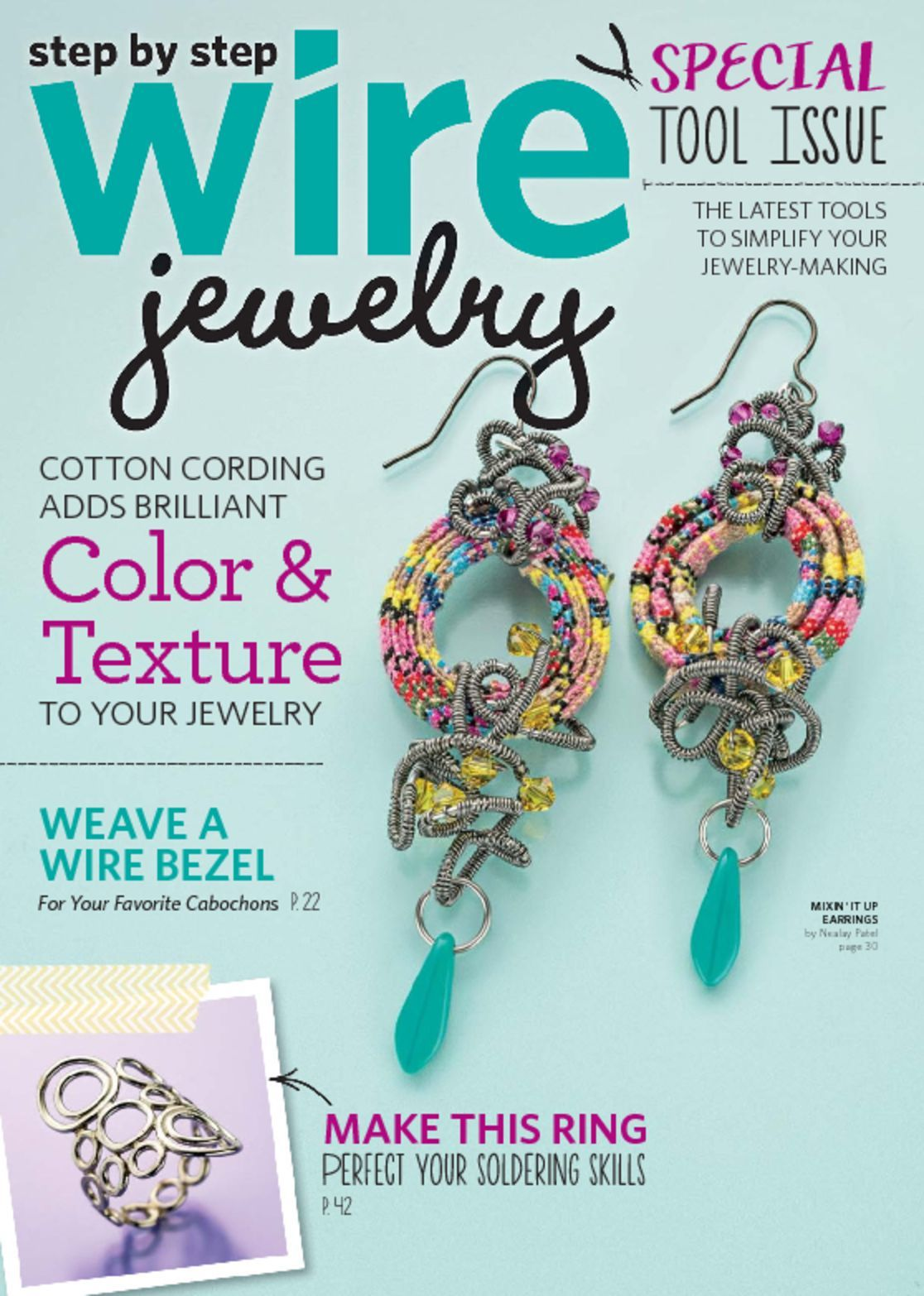 step by step wire jewelry magazine your guide to jewelry On step by step wire jewelry subscription