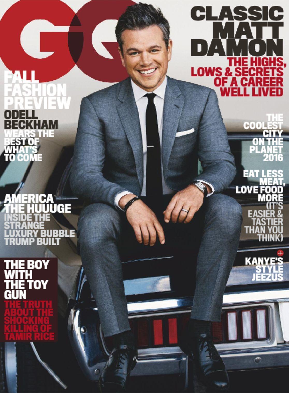 GQ Gentlemens Quarterly Magazine Subscription